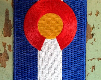 Colorado State Flag Travel Patch