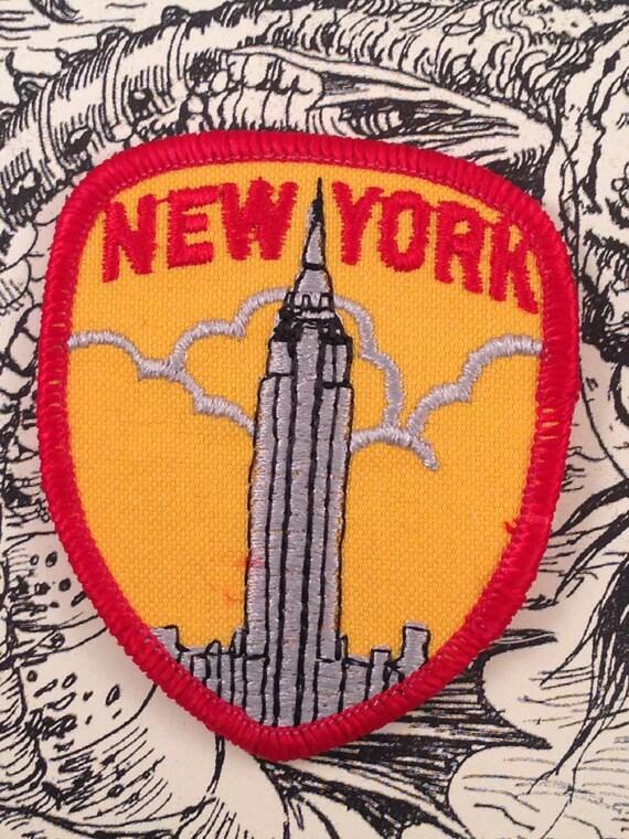 New york city travel patch