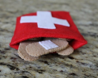 Felt BandAid Set- Eco Friendly Felt