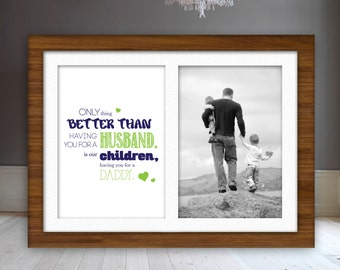 Daddy Father's Day Framable Printed Quote
