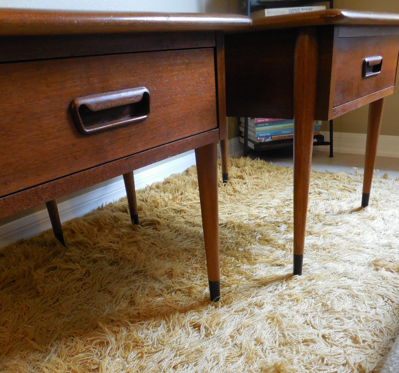 Lane Acclaim Series Coffee Table: Lane Acclaim Pair Nightstands Side End Coffee Table 1960s Mid