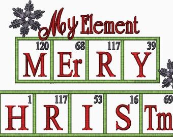 Periodic Table Joke Design SODIUM Chemistry embroidery