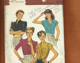 1979 Style 2769 Retro Seventies Blouses  Size 12