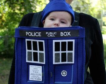 Doctor Who TARDIS Baby Costume PDF Pattern