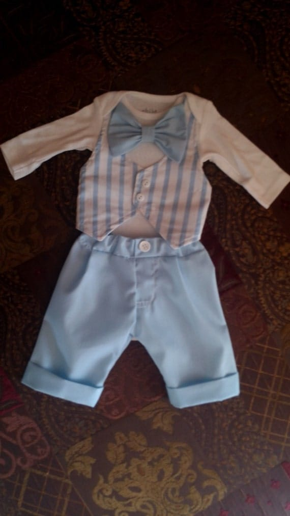 Newborn Boy Homecoming Outfit Baby Boy Special Occasion Take