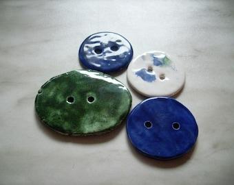 4 buttons, ceramic  (851)