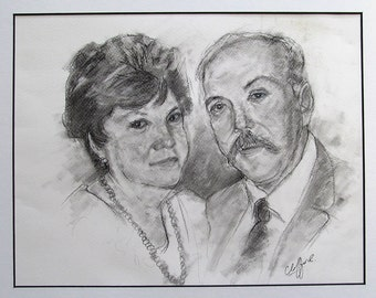Two subjects in the same portrait