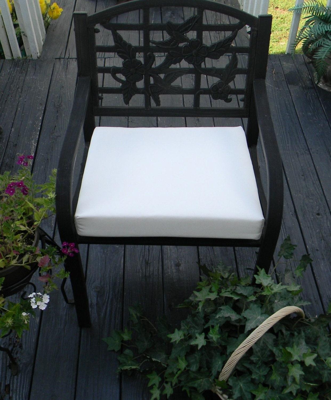 Indoor Outdoor Universal Foam Seat Cushion With Ties