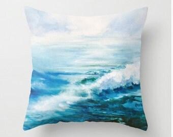 Ipswich Ocean Pillow