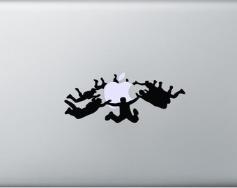 Skydiver Decal for Macbooks