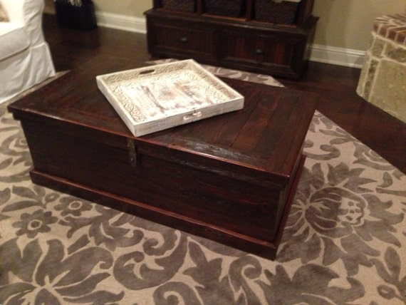 Items Similar To Blanket Chest Coffee Table On Etsy