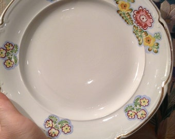 Vintage Plate, Russia (Konakovo, ЗиК). Porcelain