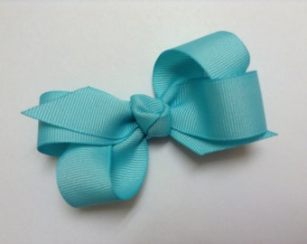 """You Pick 3.5"""" Ribbon Bow Hair Clip For Baby Girl. Bow Hair Clip For Girls"""