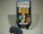 Sniffles, 1988, Serendipity book, Stephen Cosgrove, Robin James, vintage kids book