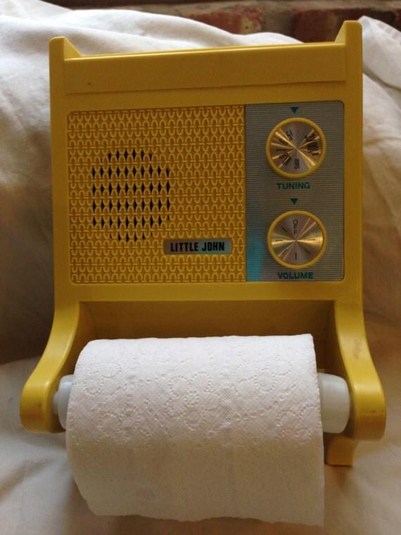 Little John Bathroom Radio Amp Toilet Paper Holderreally Works