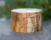 Wooden Coaster - Koi