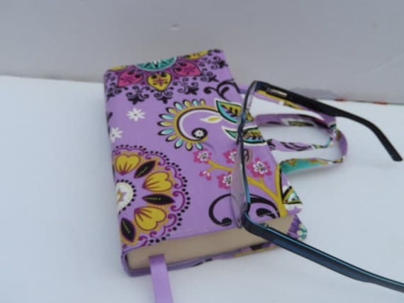 Cloth Book Covers With Handles ~ Paperback fabric book cover with handles