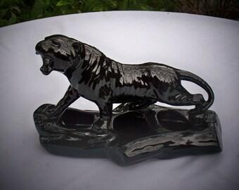 Black Panther Planter,  1950's retro mid century modern ceramics