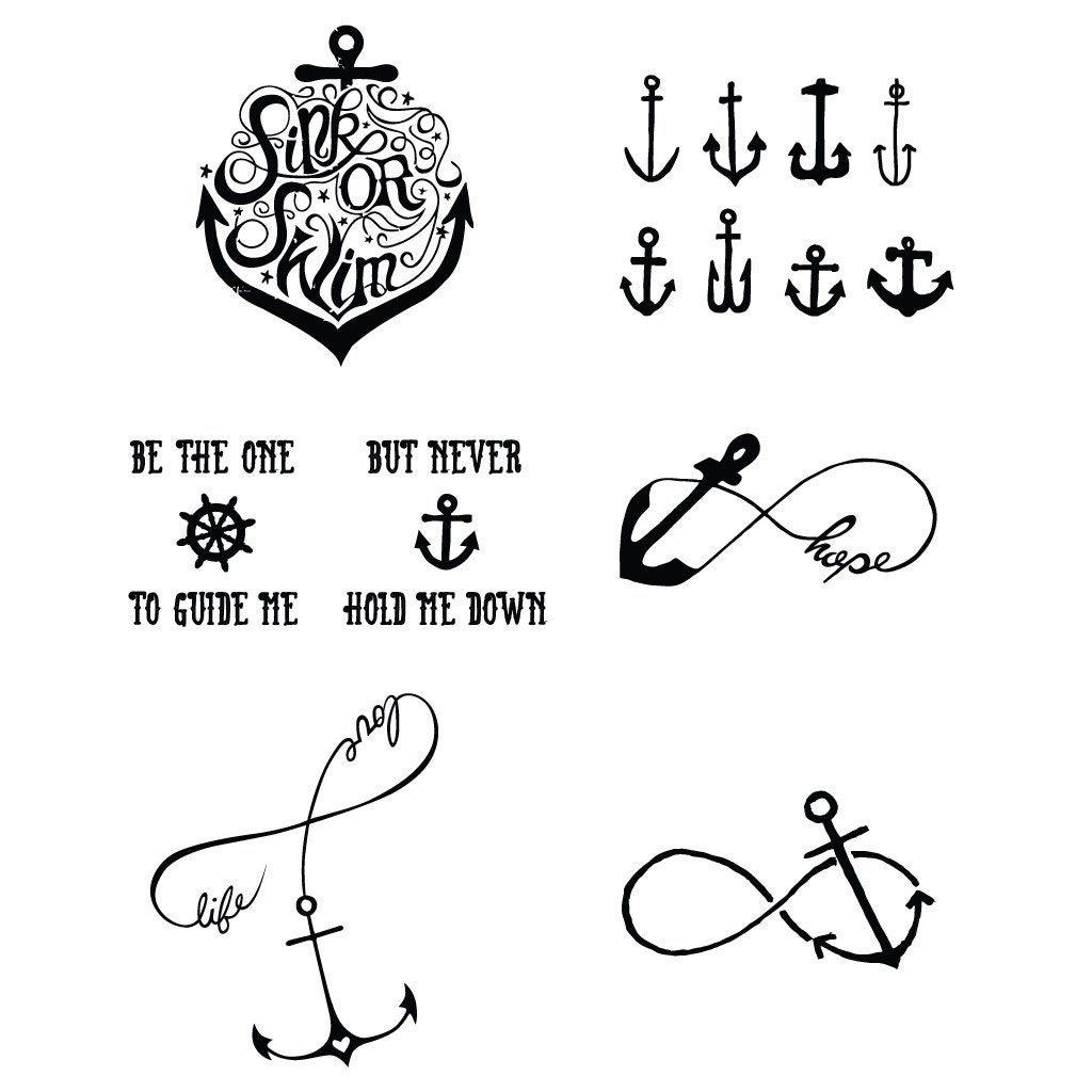 tall ships temporary tattoo set of 12 by tattify on etsy. Black Bedroom Furniture Sets. Home Design Ideas