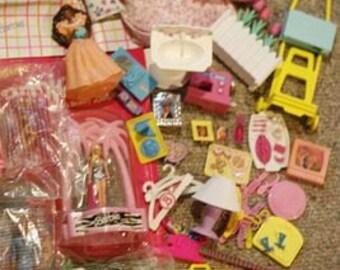 Barbie Accessories Lot - a Few 60s Pieces, 1980s, & 1990s