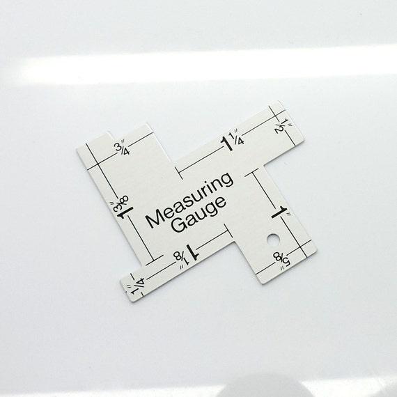 Measuring Gauge, Quilting Supply, Measuring Tools, Measuring Ruler ... : quilting measuring tools - Adamdwight.com