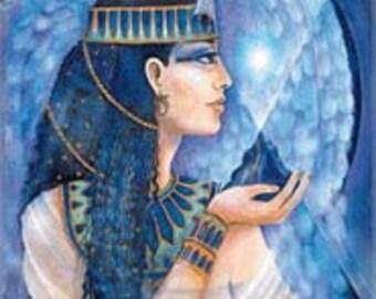 Goddess pendant - Goddess Maat by Pamela Matthews