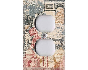 Wonders of the World Outlet Cover