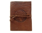 10 x Leather book Terra Tree of Life in Buffalo Leather