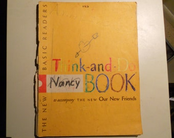 1956 The New Basic Readers Think and Do Book