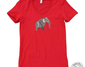 Women's ELEPHANT American Apparel Poly-Cotton Tee