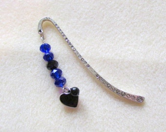 Beaded Metal Bookmark   (JB62)