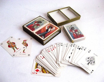Vintage Spanish Playing Cards / French Deck / Vintage Poker Cards