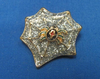 Vintage Spider Lapel or Brooch Pin....