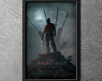 Original Giclee Art Print 'A Nightmare On Elm Street' Limited Edition