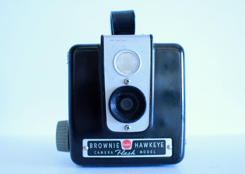 vintage kodak brownie hawkeye flash model camera by onedayhappened. Black Bedroom Furniture Sets. Home Design Ideas