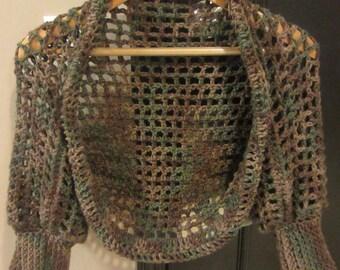 Crochet Pattern Shrug Sweater, Crochet Sweater, Spring Sweater, Winter Shrug, Spring Shrug, Lace Shrug