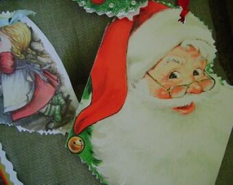 Gift Tags Christmas Handmade CardTags set of 9