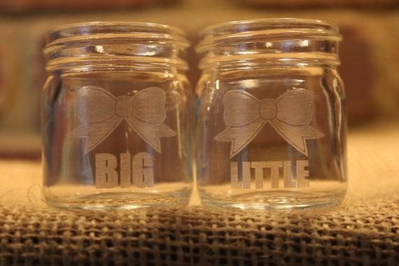 Mason Jar Big Little Big And Little Mason Jar Shot