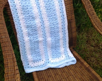 Baby Boy Blue Afghan