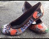 Cleveland Browns - Custom Heels