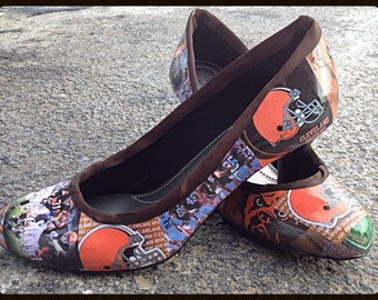 Cleveland Browns - Custom Heels
