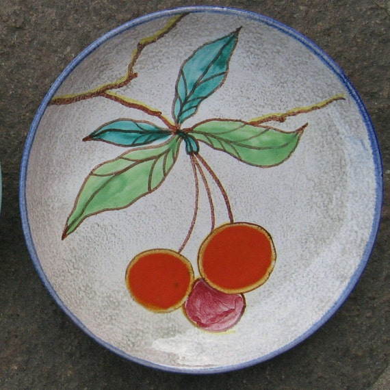 Rosenthal Germany Ceramic Hand Painted Plate Fruit Plate