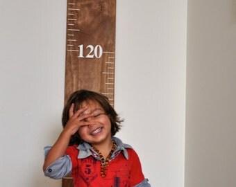 Wooden Ruler Growth Chart - Children's Growth Chart- (23.5 cm wide board)