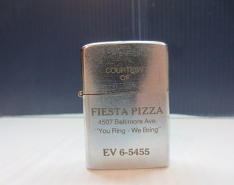 1960s Hi - Lite Advertising Lighter Never Used