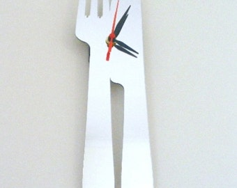 Knife and Fork Clock Mirror - 2 Sizes Available