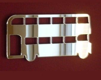 Double Decker Bus Mirror - 5 Sizes Available