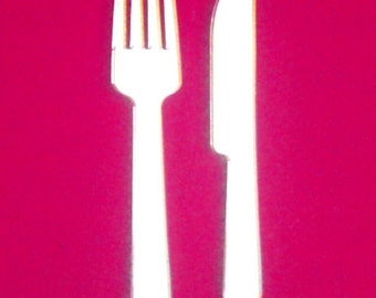 Knife and Fork Mirrors - 5 Sizes Available