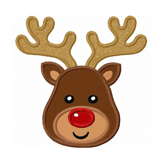 deer head applique design free