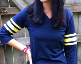 LADIES FOOTBALL jeresy-Just the Jersey  NO customization  Sizes extra small thru extra large Bright fun sporty colors