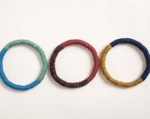 Sisal and Wool Cat Toy - The Two-Tone Hoop
